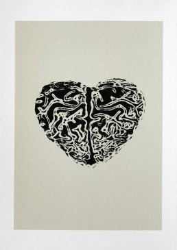 Love is a mystery print